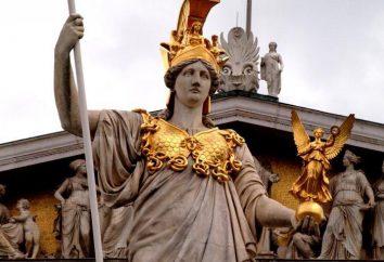 Qui est Athéna? Dans la mythologie grecque, Athéna -boginya a organisé la guerre, la stratégie militaire et de la sagesse