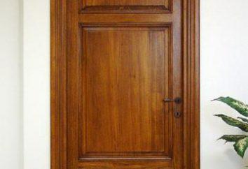 ¿Cuál es la popa para la puerta interior. Tipos, tamaños, instalación