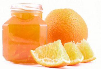 Confiture d'oranges: la recette et la façon de préparer le dessert
