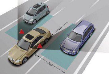 Śliskie obszary pojazdu