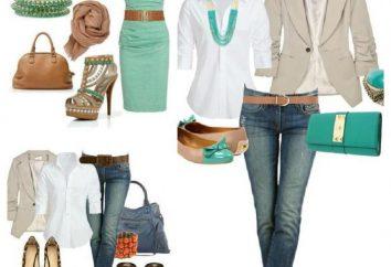Facciamo l'insieme dei vestiti alla moda