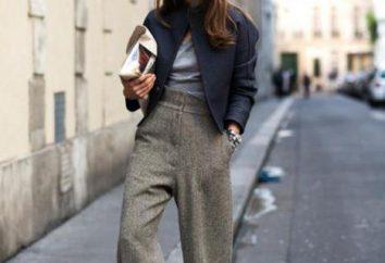 O que vestir com calças cinzentas: recomendações belas combinações dos profissionais e comentários