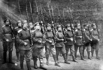Battaglione di morte delle donne nella prima guerra mondiale. La storia della creazione del battaglione femminile