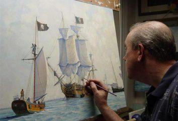 pintor de marinas – un artista que dibuja el mar
