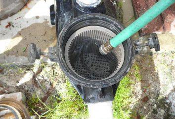 La pompe est tombé dans le trou: les moyens et les problèmes de pompe de relevage