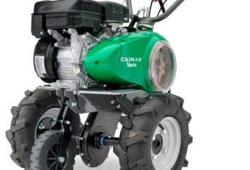 """""""Cayman"""" (walk-tył): instrukcje, informacje zwrotne. Załączniki do kultywatora silnika """"Cayman"""""""