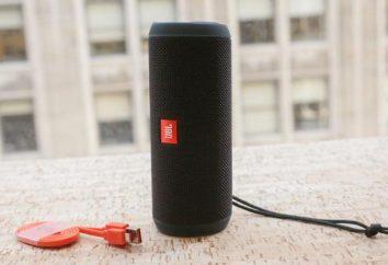 Haut-parleurs portables JBL Flip 3: avis et description
