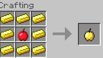"""I dettagli su come rendere la mela d'oro """"Maynkraft"""""""