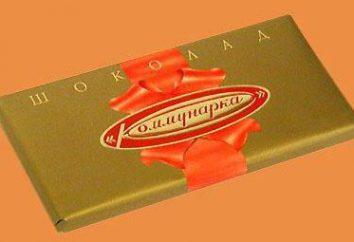 """Produkcja fabryki """"Kommunarka"""": czekolada"""