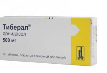 """Das Medikament """"Tiberal"""" – Bewertungen, unter welchen Krankheiten wirksam sind, Nebenwirkungen"""