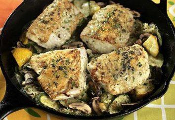 Ryba z grzybami: kilka popularnych recepty