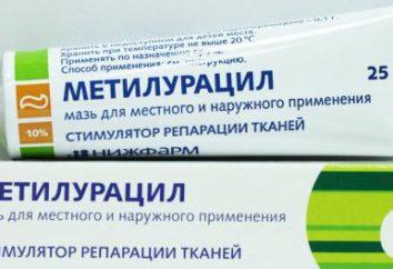 Maść metyloracylu: instrukcje użycia, wskazania i przeciwwskazania