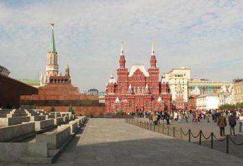 Beschreibung von Moskau und seine Sehenswürdigkeiten