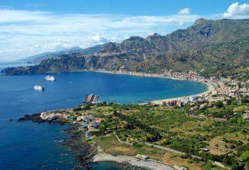 Sicília, Giardini Naxos descrição, características, hotéis, atrações e comentários
