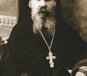 Bischof Joasaph Zhevakhov im Angesicht des Märtyrers heilig gesprochen.