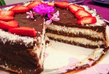 "Cake ""bounty"" – una delizia celeste"