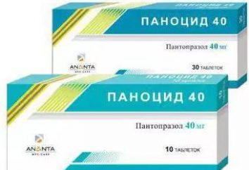 """""""Panotsid 40"""": instrukcje użytkowania, prawdziwe odpowiedniki"""