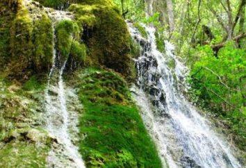 Wasserfälle, Arkhipo-Osipovka: Beschreibung