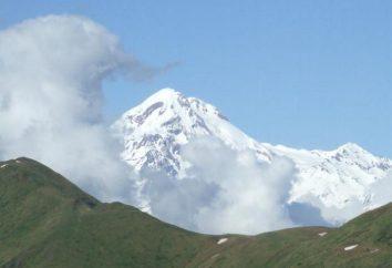 Dov'è Kazbek? Montagna, attirando la sua grandezza