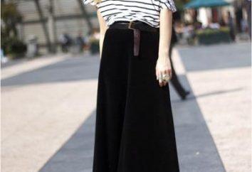 Czarna spódnica: Jak i co się ubrać?