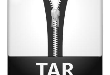 Details darüber, wie die TAR entpacken