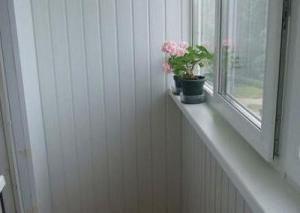 Balcon panneaux en plastique revêtement: Caractéristiques Installation
