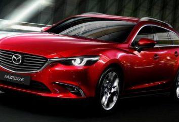 """""""Mazda 6"""" (kombi) 2016: specyfikacje i opis japońskiej nowości"""