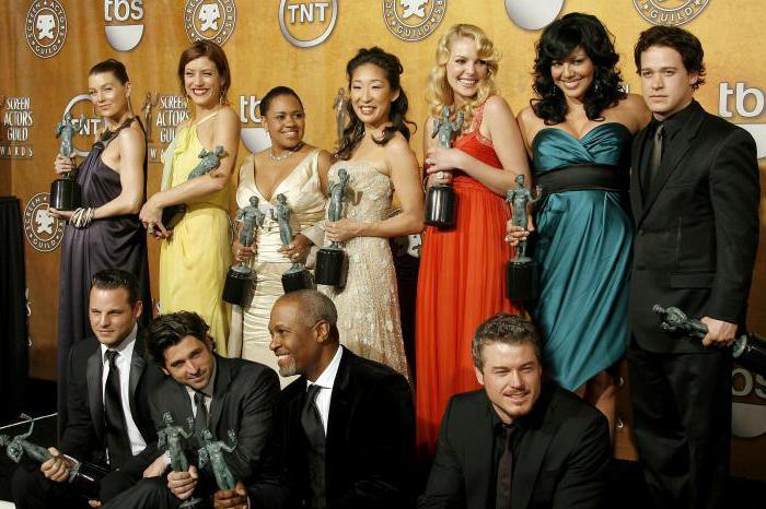 """Greys Anatomy"""": Schauspieler und Rollen"""