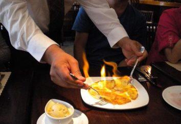 Flambe – quel est-il? Comment préparer flambés: recettes