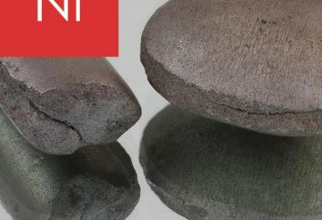 Nickel – ce qui est-ce? propriétés de nickel