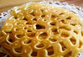 Semplici frittelle ricetta traforati con kefir