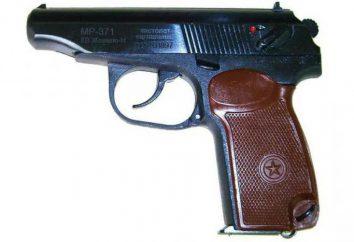 Pistola Makarov segnale MP-371: caratteristiche tecniche, le differenze da combattimento