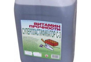 Plastificante C-3. Plastificante para concreto: Instruções, preço