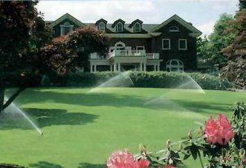 Automatyczne podlewanie ogrodu własnymi rękami. Układ wyposażony zaleceń