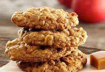 Comment faire cuire biscuits à l'avoine avec des pommes