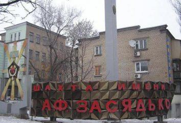 Zasyadko Mine. Unfall in Zasyadko Kohlengrube