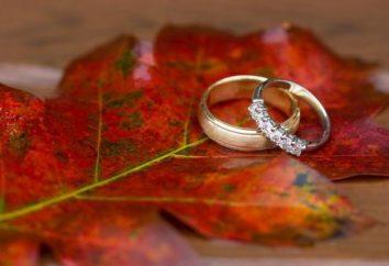 Hochzeit im September. Ihre Majestät Natur – für Sie!
