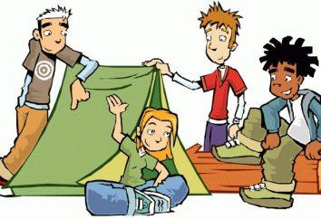Co to jest obóz? Cechy obóz letni dla podkładu