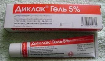 """Lek """"żel Diklak"""". Instrukcje użytkowania"""