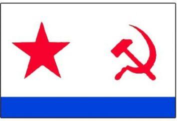 drapeau marine soviétique. La marine soviétique