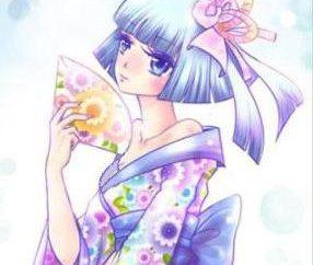 Anweisungen, wie japanische Mädchen (4 Klassen) zeichnen