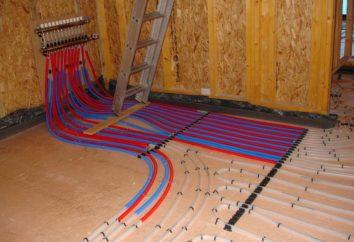 pavimento collettore riscaldamento: un collegamento