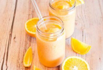 Smoothies dans un mélangeur. Smoothies: photos, recettes