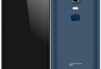 Smartphone Micromax Canvas Turbo Mini: przegląd i recenzje