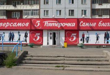 """Stores """"Pyaterochka"""" em Moscou: endereço, horário de funcionamento, descontos e promoções"""