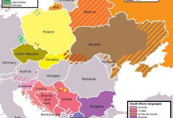 Które branże są podzielone narody słowiańskie? Starożytne ludy słowiańskie i nowoczesne
