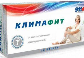 """""""Klimafit 911"""": comentários de médicos, uma instrução de composto"""