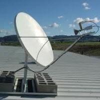 Configuración de antenas parabólicas sin ayuda