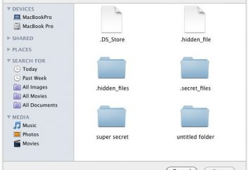 """Aby dowiedzieć się, jak wyświetlić ukryte foldery w systemie """"Mac"""""""