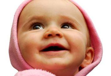 Quando as crianças começam a sorrir – são personalidade